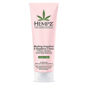 Hempz Grapefruit & Raspberry In-Shower Body Moisturizer 8.5 oz. - 250 mL. (41516)