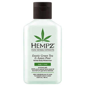 Hempz Green Tea & Asian Pear Moisturizer 2.25 oz. - 66 mL. (M41321 - 41390)