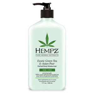 Hempz Green Tea & Asian Pear Moisturizer 17 oz. - 500 mL. (M41321 - 41321)