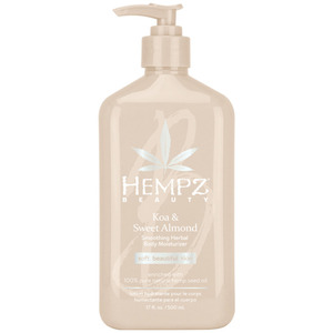 Hempz Koa & Sweet Almond Smoothing Herbal Body Moisturizer 17 oz. - 500 mL. (M41806 - 41806)