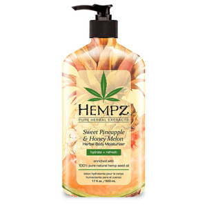 Hempz Limited Edition Pineapple & Honey Melon Moisturizer 17 oz. - 500 mL. (41783 LE)