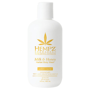 Hempz Milk & Honey Body Wash 8 oz. - 237 mL. (41699)