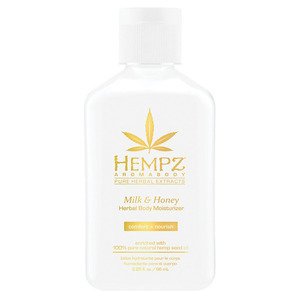 Hempz Milk & Honey Moisturizer 2.25 oz. - 66 mL. (M41697 - 41698)