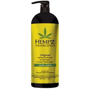 Hempz Original Herbal Conditioner for Damaged & Color Treated Hair 33.8 oz. - 1 Liter (M120243703 - 120243704)