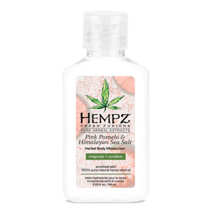 Hempz Pink Pomelo & Sea Salt Moisturizer 2.25 oz. - 66 mL. (M41723 - 41724)
