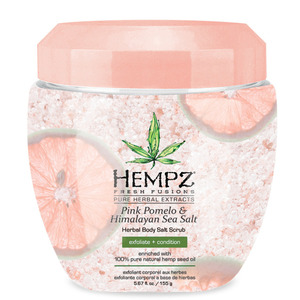 Hempz Pink Pomelo & Sea Salt Scrub 5.67 oz. - 155 grams (41726)