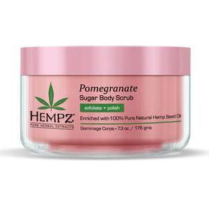 Hempz Pomegranate Sugar Scrub 7.3 oz. - 176 grams (41164)