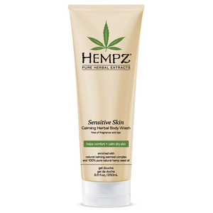 Hempz Sensitive Skin Calming Body Wash 8.5 oz. - 250 mL. (41386)