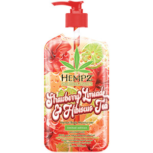 Hempz Strawberry Limeade & Hibiscus Tea Limited Edition Moisturizer 17 oz. - 500 mL. (41912 LE)
