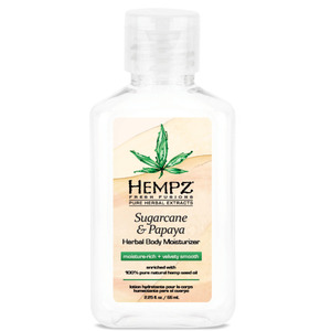 Hempz Sugarcane & Papaya Body Wash 2.25 oz. - 66 mL. (41718)
