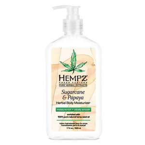 Hempz Sugarcane & Papaya Moisturizer 17 oz. - 500 mL. (M41716 - 41716)