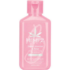 Hempz Sweet Jasmine & Rose Moisturizer 2.25 oz. - 66 mL. (M55100 - 55101)