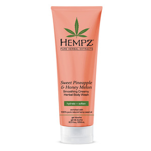 Hempz Sweet Pineapple & Honey Melon Body Wash 8.5 oz. - 250 mL. (41545)