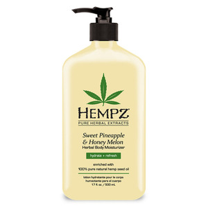 Hempz Sweet Pineapple & Honey Melon Moisturizer 17 oz. - 500 mL. (M41543 - 41543)