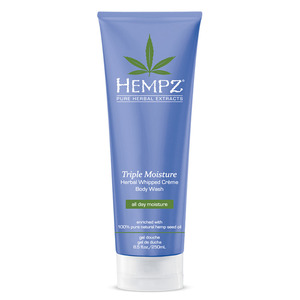 Hempz Triple Moisture Whipped Creme Body Wash 8.5 oz. - 250 mL. (41270)