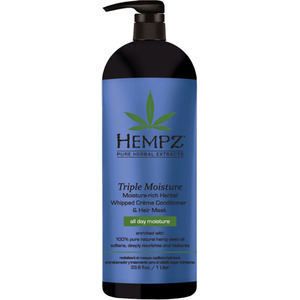 Hempz Triple Moisture Whipped Creme Conditioner & Hair Mask 33.8 oz. - 1 Liter (M120243803 - 120243804)