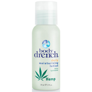 Body Drench - Hemp Moisturizing Lotion 2 oz. - 59 mL. (M10703 - 10715)