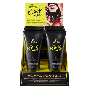 Body Drench - The Black Mask - Pore Refining Peel-Off Mask Display - (6) Units 3 oz. - 89 mL. Each (61225)