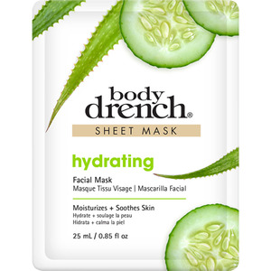 Body Drench - Hydrating Sheet Mask 0.85 oz. - 25 mL. (74118)