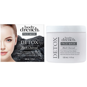 Body Drench - Detox Black Charcoal Pore Refining Mask 4 oz. - 120 mL. (61230)