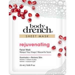 Body Drench - Rejuvinating Facial Sheet Mask 0.85 oz. - 25 mL. (74119)