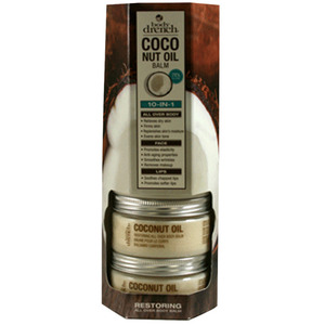 Body Drench - Coconut Oil Replenishing Body Balm Display 3 oz. - 86 grams Each X 5 Units in Display (67895)
