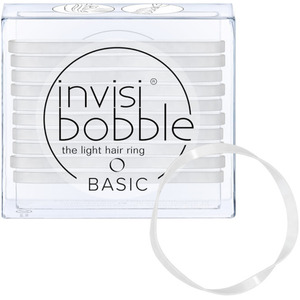 Invisibobble - Basic Hair Bands - Clear 10 Hair Rings (M71350 - 71351)