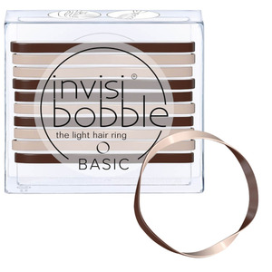 Invisibobble - Basic Hair Bands - Mocca Cream 10 Hair Rings (M71350 - 71352)