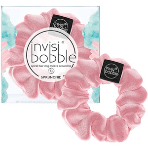 Invisibobble - Sprunchie - Spiral Hair Ring Meets Scrunchie - Prima Ballerina Pink Velvet (M71366 - 71368)