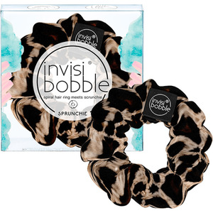 Invisibobble - Sprunchie - Spiral Hair Ring Meets Scrunchie - Purrfection Velvet Leopard Print (M71366 - 71366)