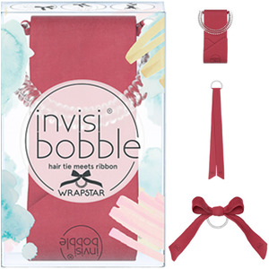 Invisibobble - Wrapstar - Hair Tie Meets Ribbon - Machu Peachu (M71433)