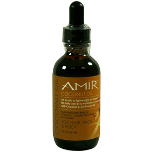 Amir Coconut Oil For Hair and Face 2.8 oz. - 60 mL. (74570)