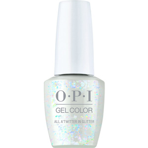 OPI GelColor Soak Off Gel Polish - Shine Bright Collection - All A'Twitter In Glitter 0.5 oz. (MHPM01 - HPM13)