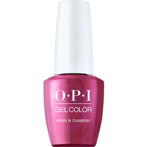 OPI GelColor Soak Off Gel Polish - Shine Bright Collection - Merry In Cranberry 0.5 oz. (MHPM01 - HPM07)