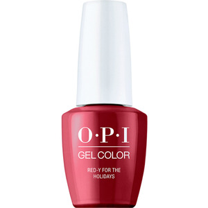 OPI GelColor Soak Off Gel Polish - Shine Bright Collection - Red-y For The Holidays 0.5 oz. (MHPM01 - HPM08)