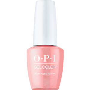 OPI GelColor Soak Off Gel Polish - Shine Bright Collection - Snowfalling For You 0.5 oz. (MHPM01 - HPM02)