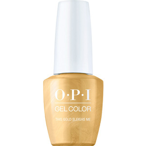 OPI GelColor Soak Off Gel Polish - Shine Bright Collection - This Gold Sleighs Me 0.5 oz. (MHPM01 - HPM05)