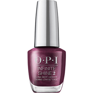 OPI Infinite Shine - Air Dry 10 Day Nail Polish - Shine Bright Collection - Dressed To The Wines 0.5 oz. (MHRM37 - HRM39)