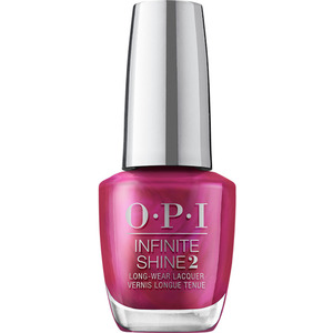 OPI Infinite Shine - Air Dry 10 Day Nail Polish - Shine Bright Collection - Merry In Cranberry 0.5 oz. (MHRM37 - HRM42)