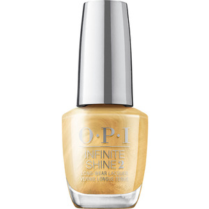 OPI Infinite Shine - Air Dry 10 Day Nail Polish - Shine Bright Collection - This Gold Sleighs Me 0.5 oz. (MHRM37 - HRM40)