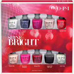 OPI Nail Lacquer - Shine Bright Collection Mini 10 Pack (HRM19)