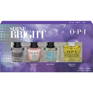 OPI Nail Lacquer - Shine Bright Collection Treatment Mini Pack (HRM34)
