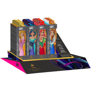 Wet Brush Pro - Disney Stylized Princess Brush Display (16946)