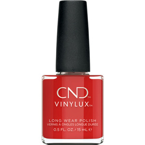 CND Vinylux Cocktail Couture Holiday 2020 Collection - Devil Red 364 0.5 oz.. - 7 Day Air Dry Nail Polish (M8745 - 8745)