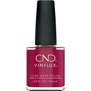 CND Vinylux Cocktail Couture Holiday 2020 Collection - How Merlot 366 0.5 oz.. - 7 Day Air Dry Nail Polish (M8745 - 8747)