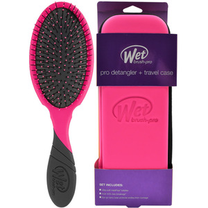 Wet Brush Pro - Detangler + Travel Case Pink (M16869 - 16870)