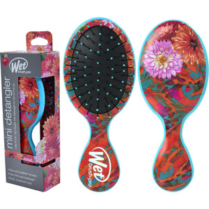Wet Brush Pro - Hyper Floral Mini Detangler Teal Florals (M16943 - 16945)