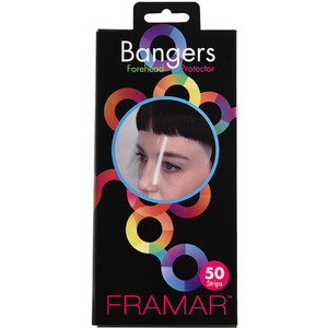 Framar Bangers Forehead Stain Protectors 50 Pack (46079)