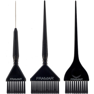 Framar Family Pack Brush Set Black 3 Pack (46038)