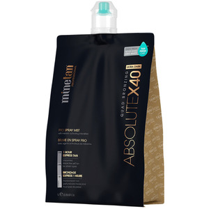 MineTan Absolute X40 Pro - Professional Spray Tan Solution 33.8 oz. - 1 Liter (M43620 - 43620)